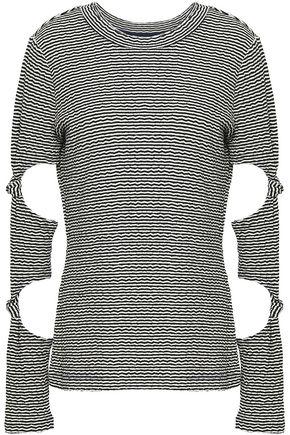 DEREK LAM 10 CROSBY Long Sleeved Top