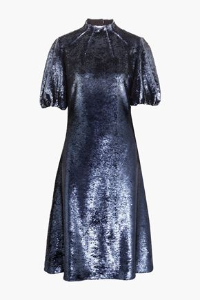 EMILIA WICKSTEAD Amara cutout sequined tulle dress
