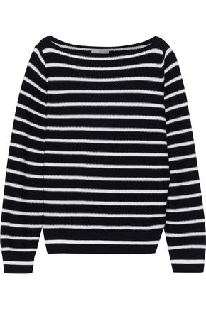 VINCE. Striped cotton sweater