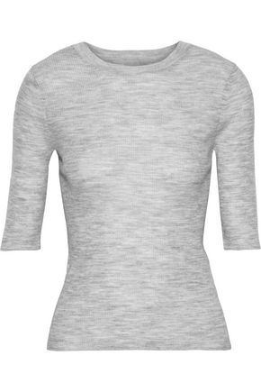 VINCE. Ribbed wool top
