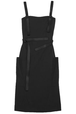 TOMAS MAIER Cotton-poplin and canvas dress