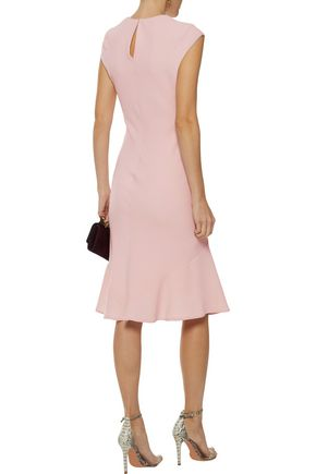 NARCISO RODRIGUEZ Fluted wool dress