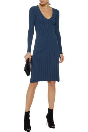 NARCISO RODRIGUEZ Ribbed-knit dress