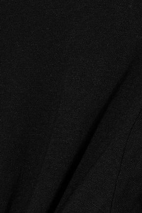 ENZA COSTA Tie-back slub Pima cotton-jersey T-shirt