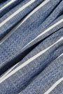 CAROLINE CONSTAS Anais striped linen and cotton-blend mini dress