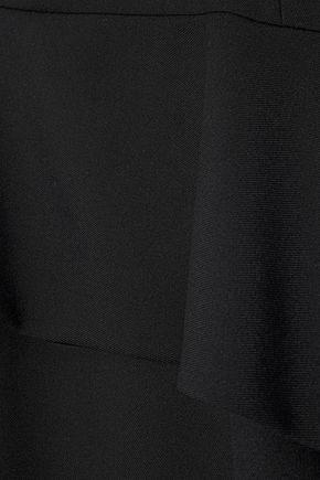 NARCISO RODRIGUEZ Wool-twill peplum dress