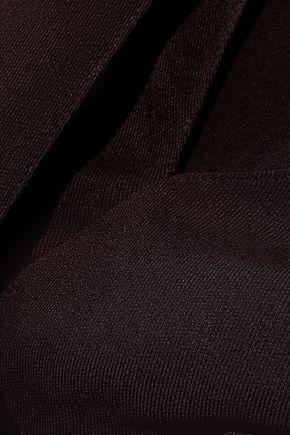 NARCISO RODRIGUEZ Draped silk-twill top