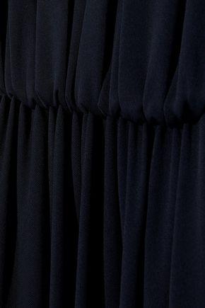 NARCISO RODRIGUEZ Gathered jersey midi dress
