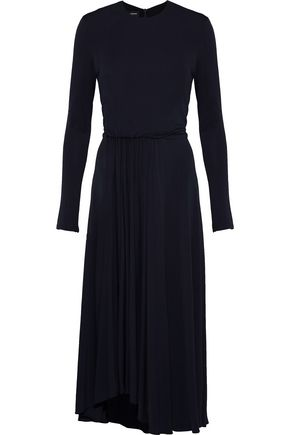 NARCISO RODRIGUEZ Gathered jersey midi dress