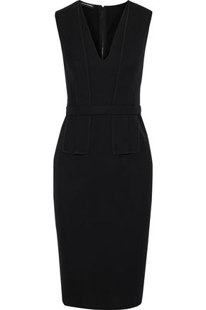 NARCISO RODRIGUEZ Paneled wool-twill dress