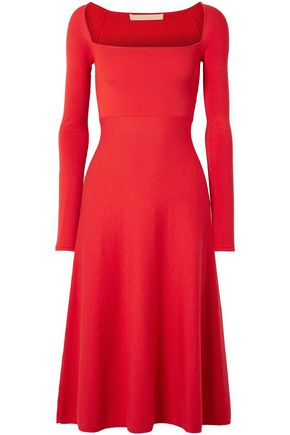 BROCK COLLECTION Kimmie cotton and silk-blend ponte midi dress