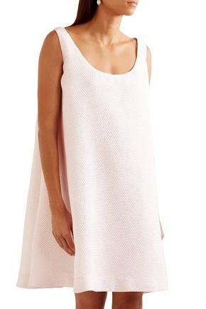 EMILIA WICKSTEAD Iridescent cloqué mini dress
