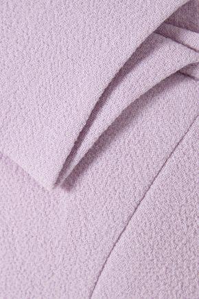 ROLAND MOURET Leonard asymmetric wool-crepe top