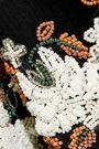 ANTIK BATIK Tahira bead-embellished georgette maxi slip dress