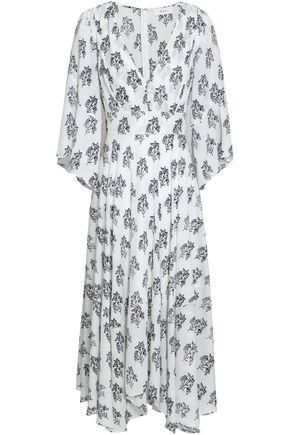 A.L.C. McKenna floral-print silk crepe de chine midi dress