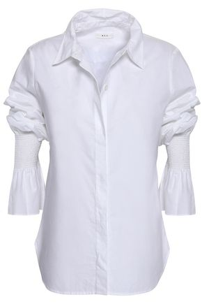A.L.C. Noely cotton-poplin shirt