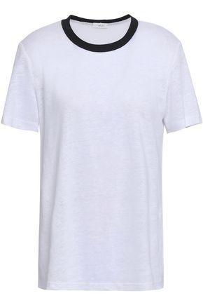 A.L.C. Ford slub linen-jersey T-shirt