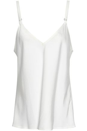 A.L.C. Axel crepe-satin camisole