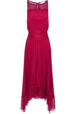 A.L.C. Matilda lace-trimmed crepe midi dress