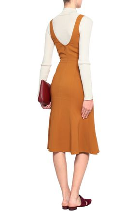 A.L.C. Sander crepe mini dress