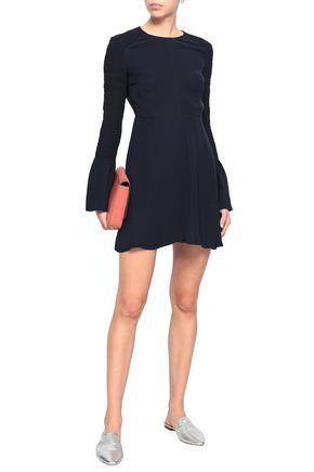 A.L.C. Alexa shirred silk-crepe mini dress