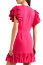 STELLA McCARTNEY Ruffle-trimmed stretch-crepe mini dress