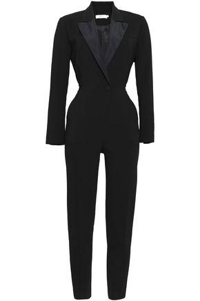 A.L.C. Kensington cutout stretch-crepe jumpsuit