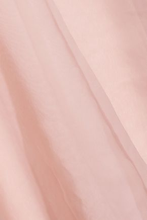MANSUR GAVRIEL Layered silk-organza dress