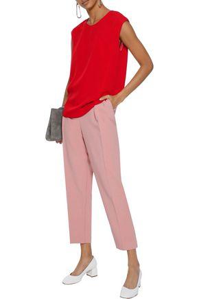 MANSUR GAVRIEL Silk-crepe blouse
