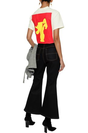 ELLERY Collector Vase printed cotton-jersey T-shirt