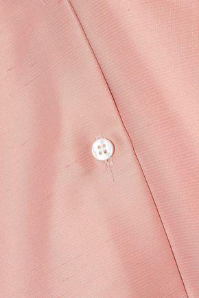MANSUR GAVRIEL Silk-shantung shirt