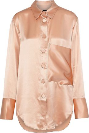 MICHAEL LO SORDO Boy silk-satin shirt