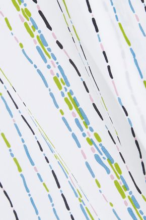 EQUIPMENT Layla printed silk crepe de chine camisole