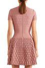 ALAÏA Pointelle-knit mini dress