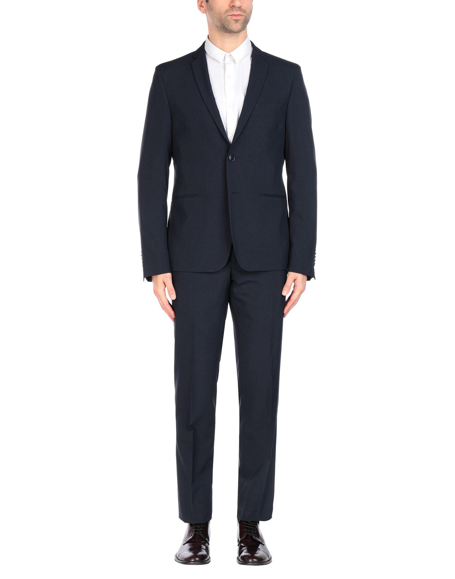 《送料無料》MANUEL RITZ メンズ スーツ ダークブルー 52 ポリエステル 100%