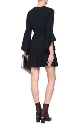A.L.C. Cassidy fluted crepe mini dress