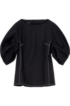 GOEN.J Stretch-cotton poplin blouse