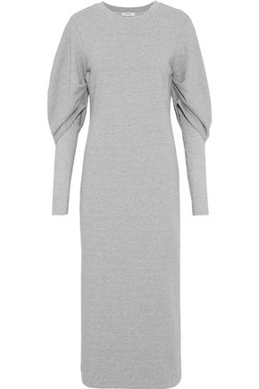 GOEN.J French cotton-terry midi dress