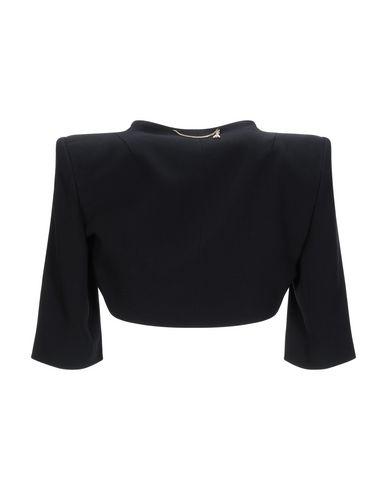 Фото 2 - Женское болеро  черного цвета