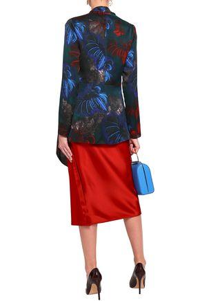 VIONNET Printed silk jacket