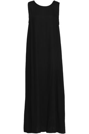 ANN DEMEULEMEESTER Crepe maxi dress