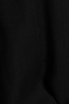 ANN DEMEULEMEESTER Belted crepe dress