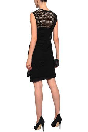 ANN DEMEULEMEESTER Crepe mini slip dress