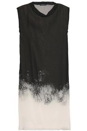 ANN DEMEULEMEESTER Dégradé silk-chiffon tunic