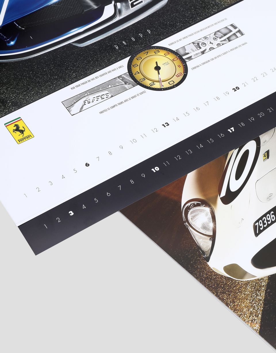 Scuderia Ferrari Online Store - 2019 Mito Ferrari calendar - Posters & Prints