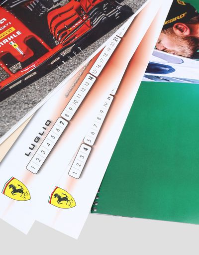 Scuderia Ferrari Online Store - Scuderia Ferrari 2019 calendar - Posters & Prints