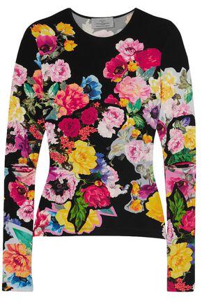 PREEN by THORNTON BREGAZZI Aidan floral-print stretch-knit top