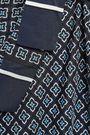 GOEN.J Tie-neck printed silk blouse