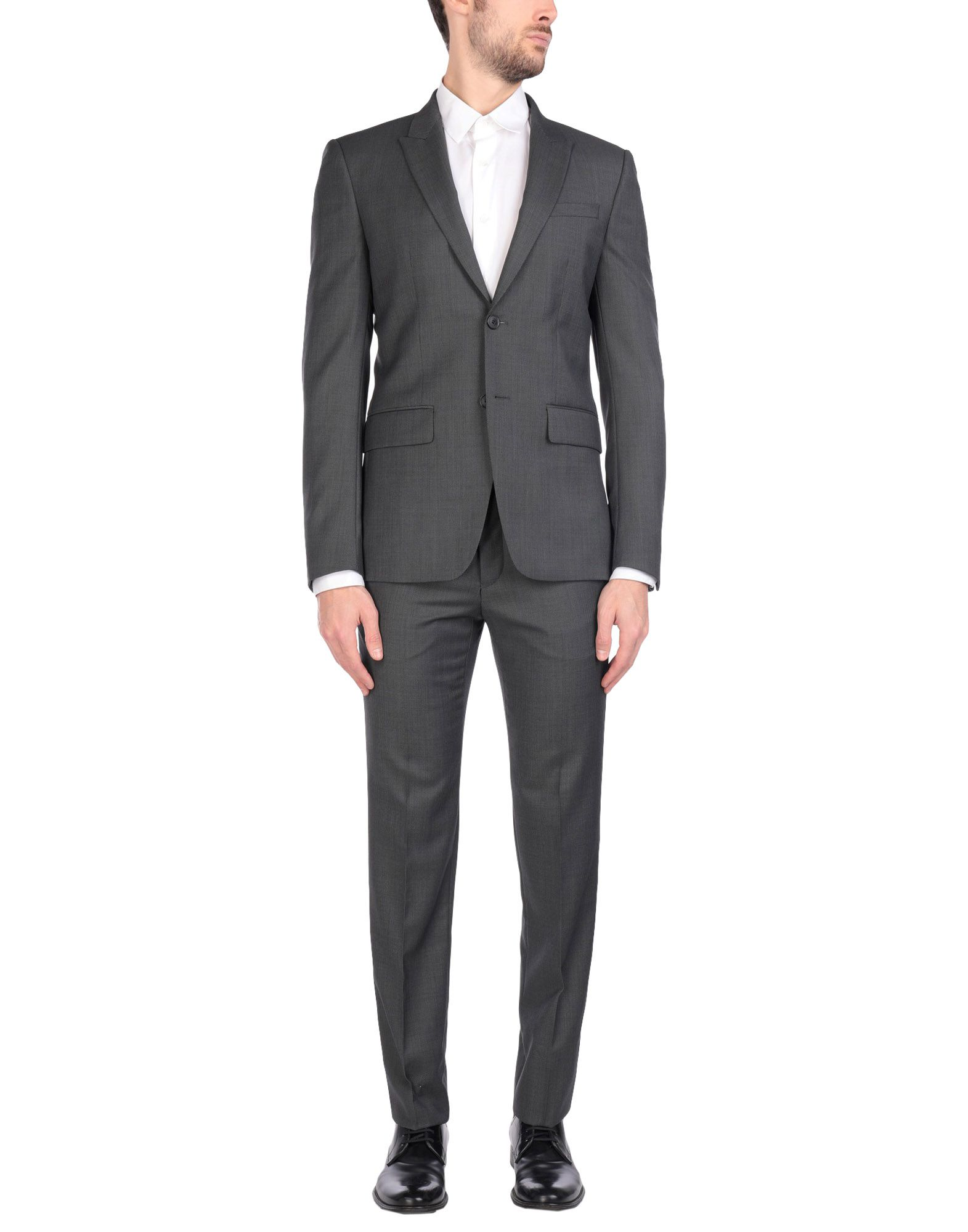 《送料無料》GIVENCHY メンズ スーツ グレー 48 ウール 100%