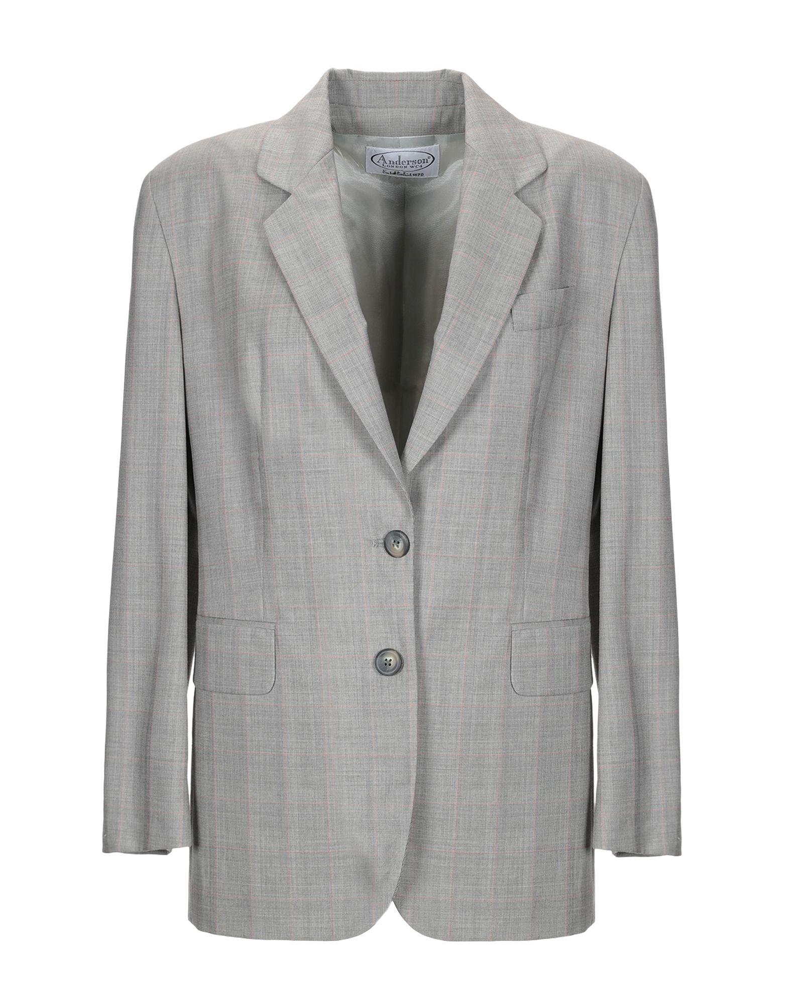 《送料無料》ANDERSON レディース テーラードジャケット ベージュ 42 ウール 100%